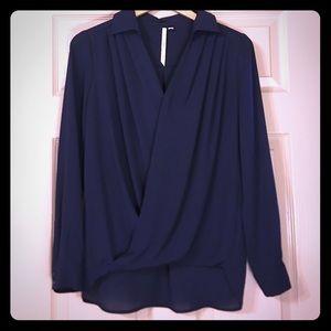 Lovely Bellatrix/Nordstrom small chiffon blouse